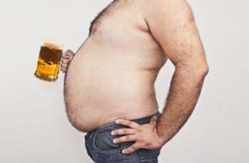 A cerveja pode dar um barrigão?