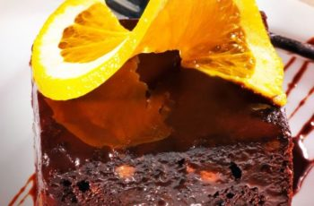 Brownie ( chocolate e laranja)
