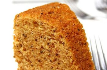 Mini bolo de Amendoim com canela