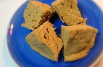Bolinho de pasta de nuts