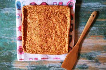 Pão de ló ( amendoim)