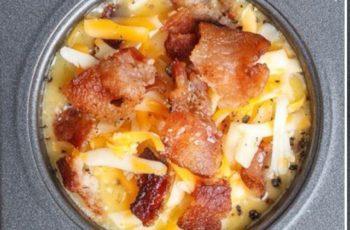 Mini omeletes de forno