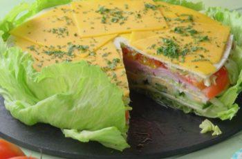 Torta de salada